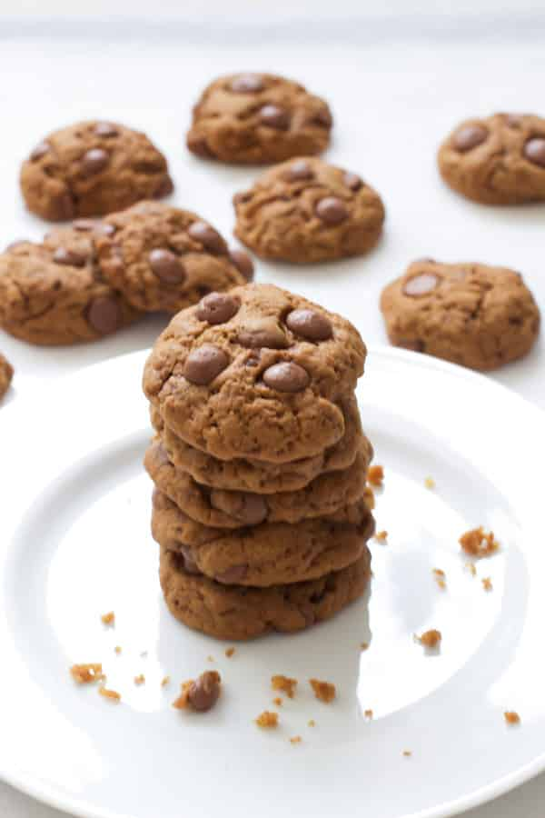 Double Dark Chocolate Cookies - The Healthy Version Recipe ...