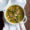 Ground Turkey White Bean Kale Soup