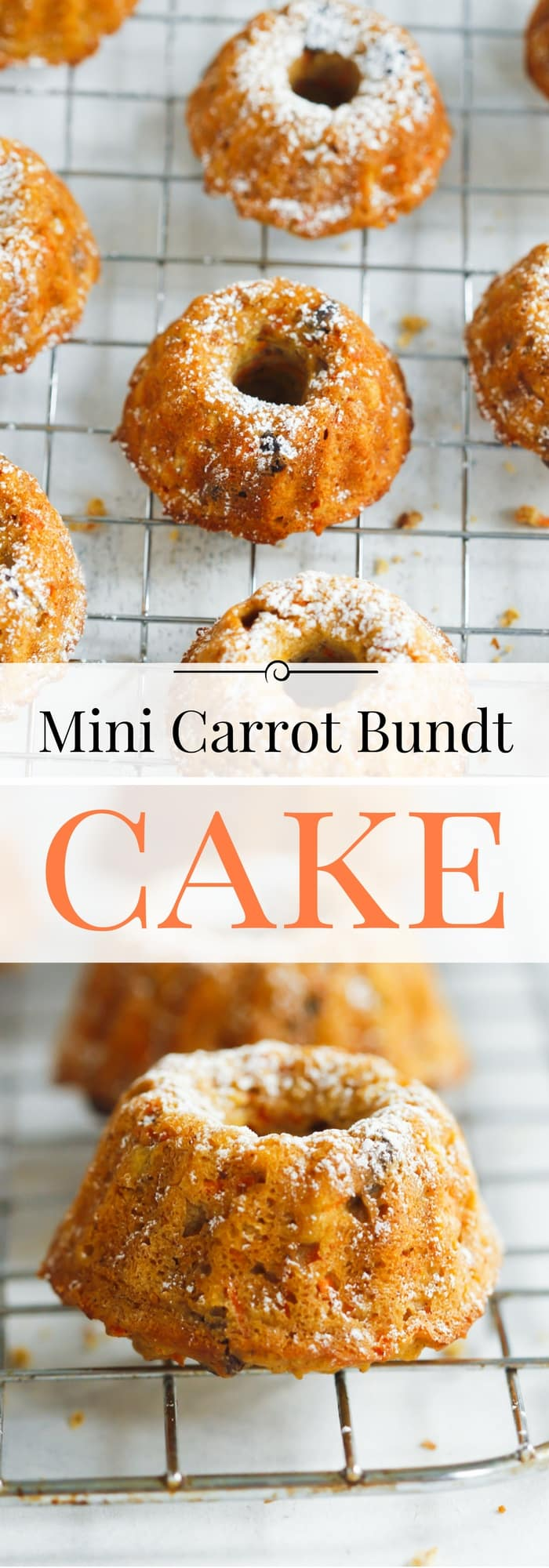 Carrot Cake Mini Bundt Recipe