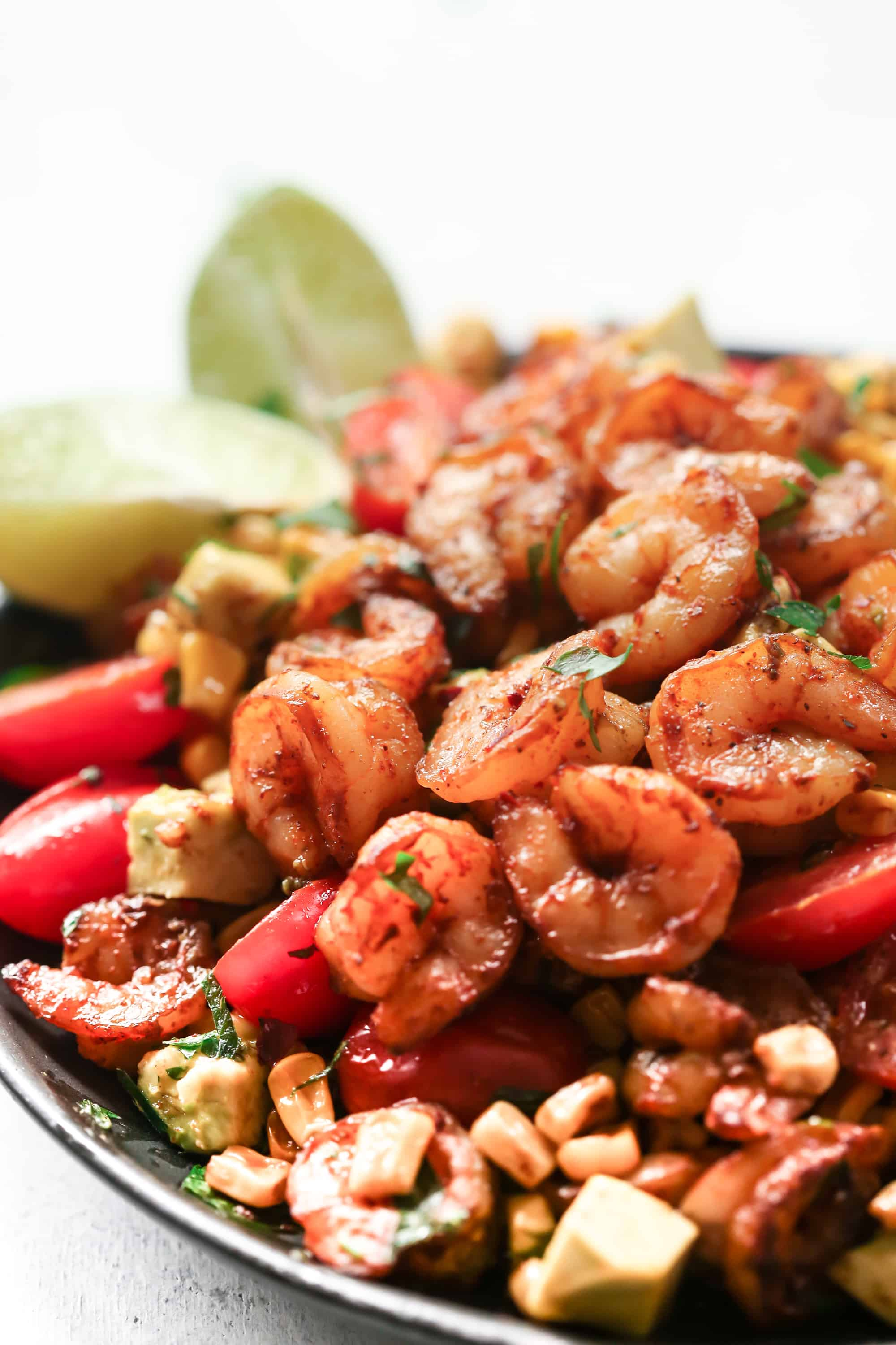 Enjoy this refreshingCorn Shrimp Salad - Corn Shrimp Salad Recipe with a light lime dressing as a side for any meal during summertime.
