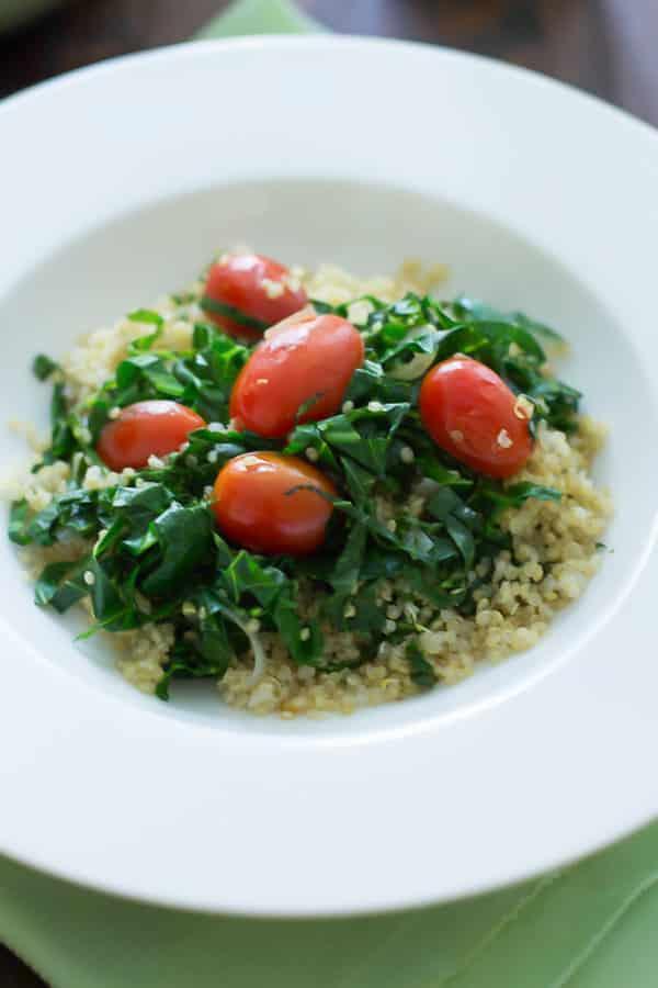 Warm Quinoa Salad Primavera Kitchen Recipe
