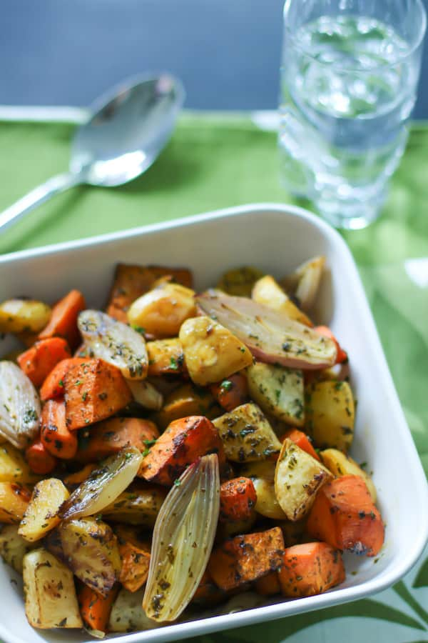 Roasted Root Vegetables with Thyme Primavera Kitchen Recipe
