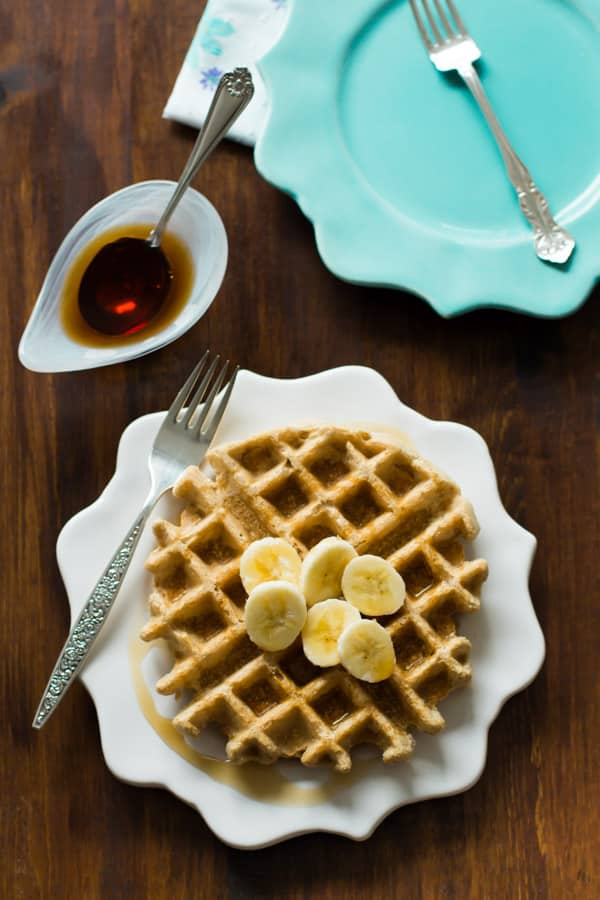 peanut butter waffles Primavera Kitchen Recipe