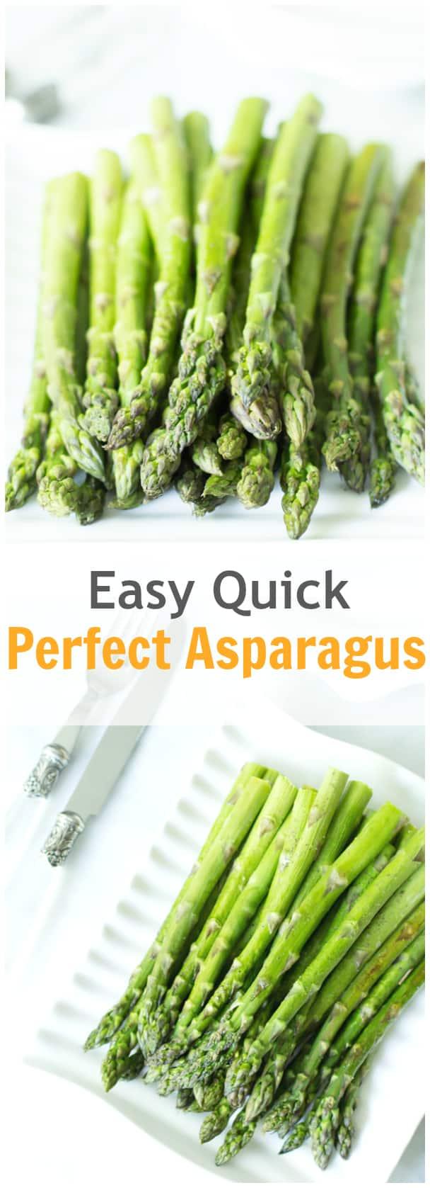 Easy Quick Perfect Asparagus