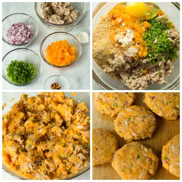 sweet potato tuna patties Primavera Kitchen Recipe