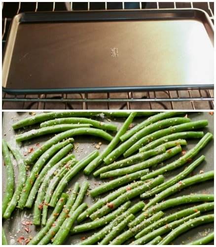 How to make crispy roasted Green Beans tips Primavera Kitchen