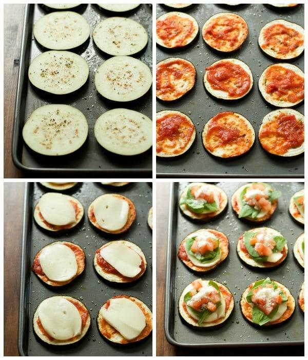 Eggplant Pizza Bites Recipe Primavera Kitchen
