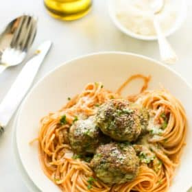 Kale Sneak in Turkey Meatballs