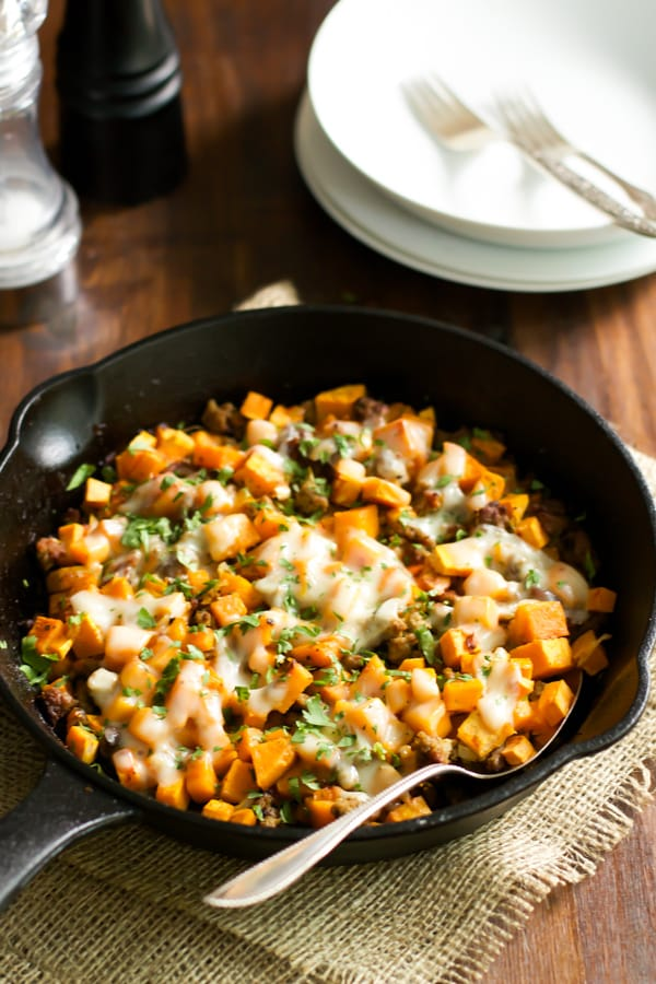 Ground Turkey Sweet Potato Skillet Primavera Kitchen