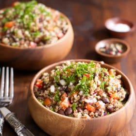Quick and Easy Quinoa Salad