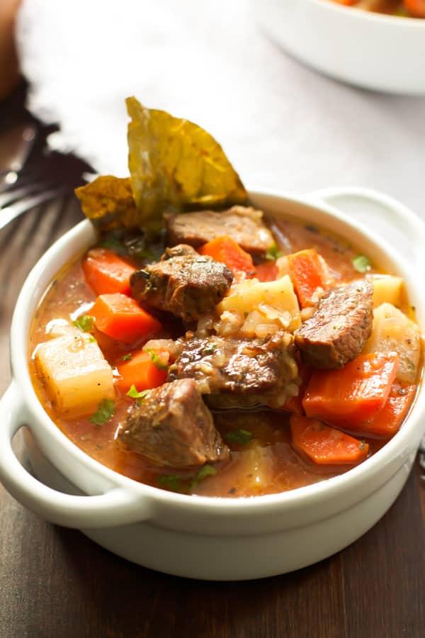 Healthier Slow Cooker Beef Stew Primavera Kitchen