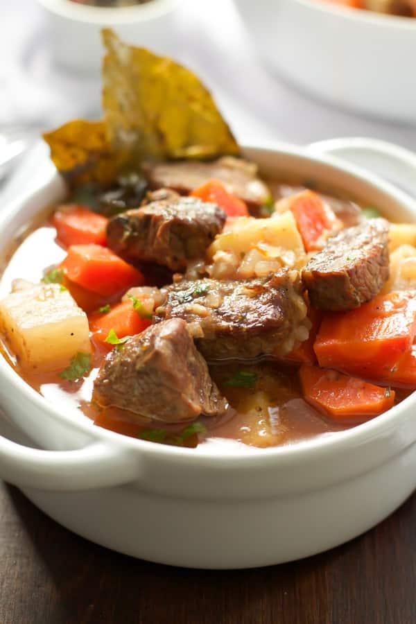 Healthier Slow Cooker Beef Stew Primavera Kitchen Recipe