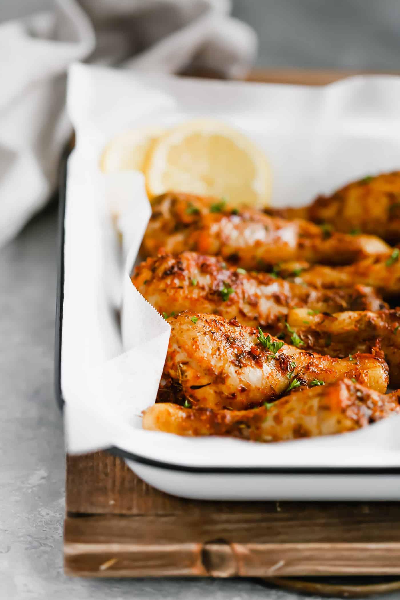 Roasted Lemon Chicken Leg Primavera Kitchen
