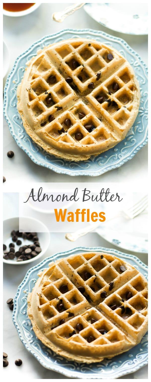 Almond Butter Waffles