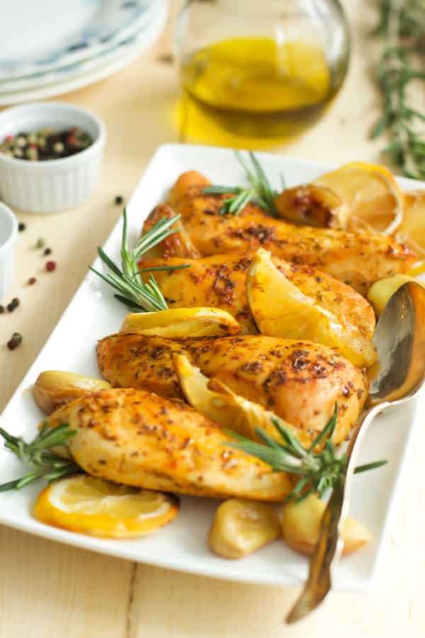 Rosemary Lemon Roasted Chicken Breasts Primavera Kitchen Recipe