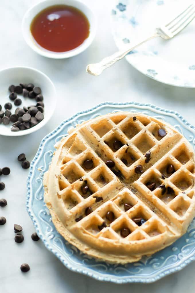 almond butter waffles-4