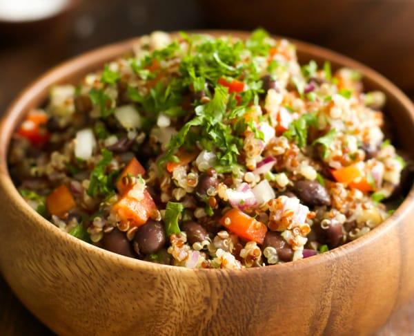 Quick and Easy Quinoa Salad Primavera Kitchen Recipe