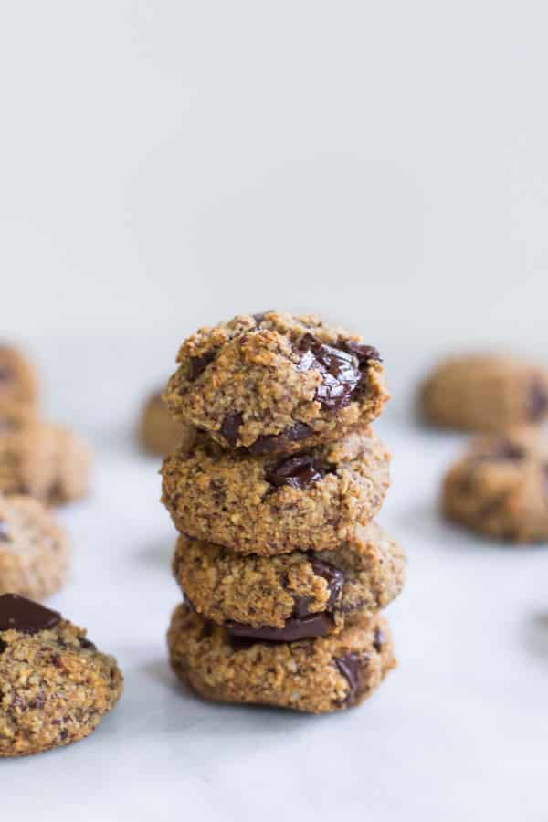 Chocolate Chunk Hazelnut Cookies-2
