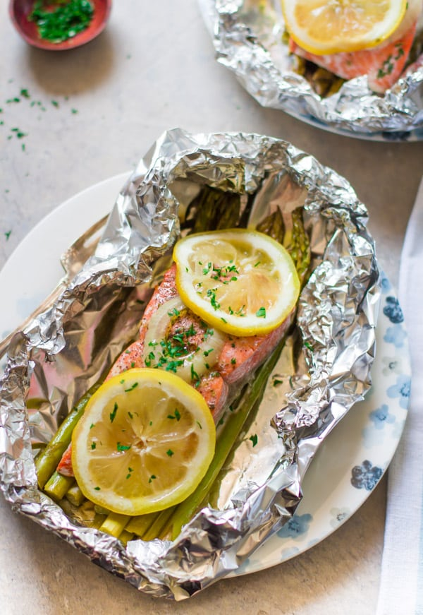 Foil Baked Salmon Recipe-5