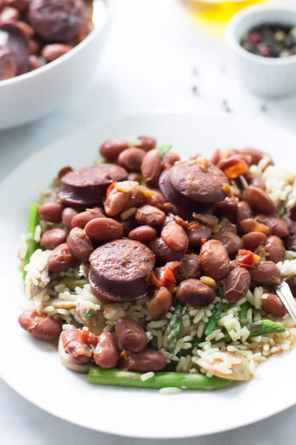 Pressure Cooker Sausage and Beans Recipe Primavera Kitchen