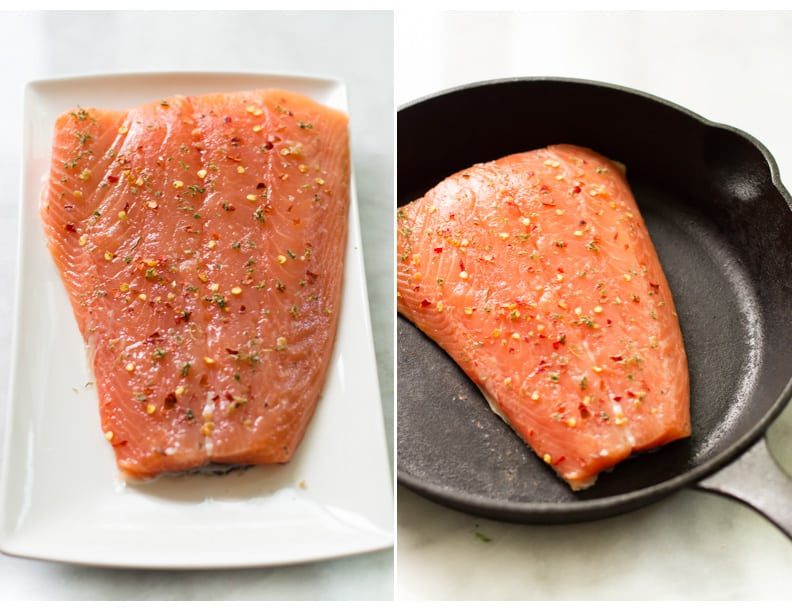 quick easy broiled salmon 1