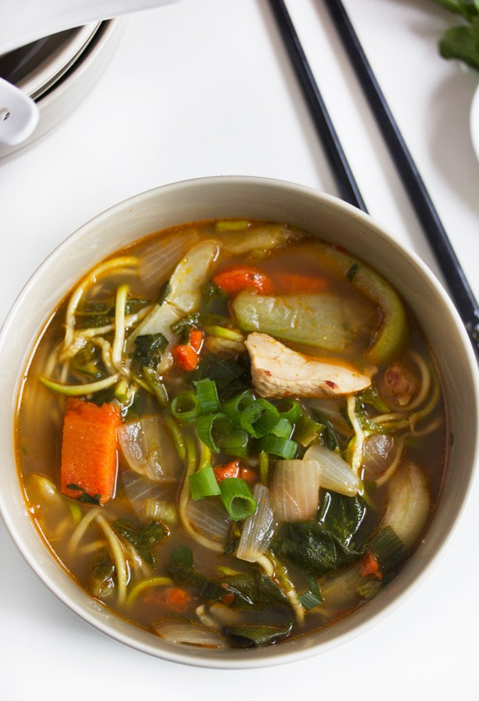 Spicy Noodle Soup recipes Primavera Kitchen