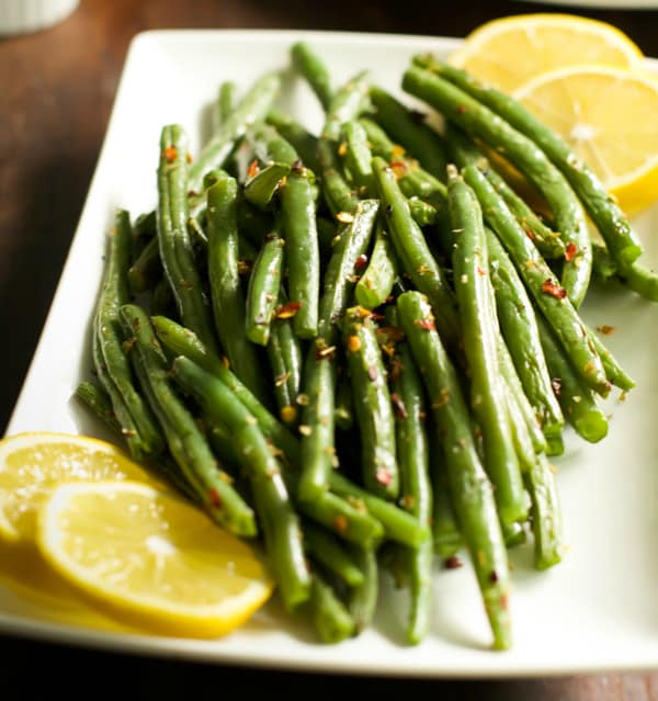 How to make crispy baked green beans Primavera Kitchen Recipe