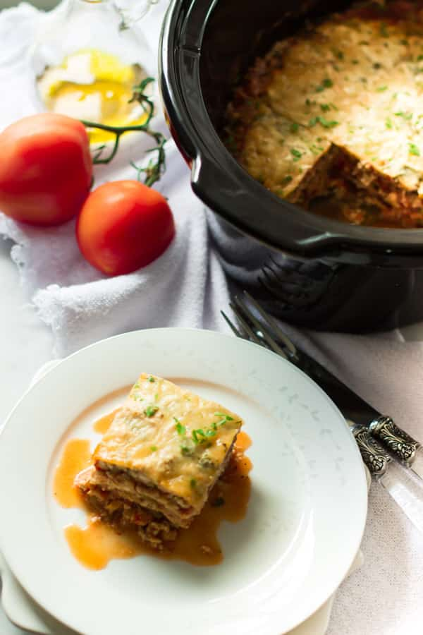 Slow Cooker Zucchini Lasagna Primavera Kitchen Recipe