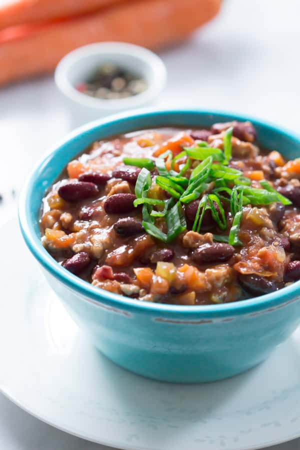 Super Easy Slow Cooker Chili Primavera Kitchen Recipe
