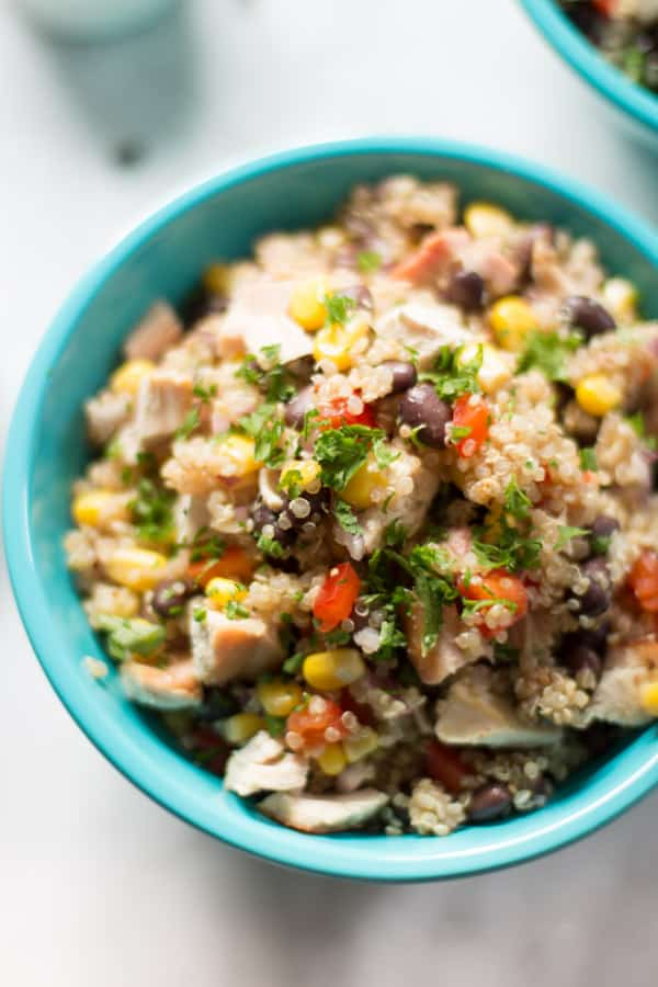 Quinoa Chicken Salad-5