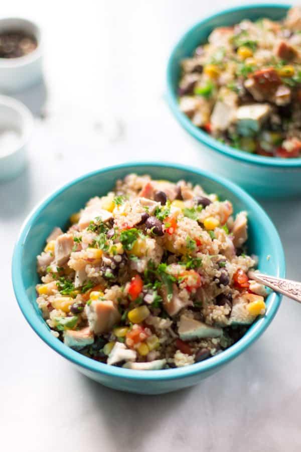 Quinoa Chicken Salad Primavera Kitchen Recipe