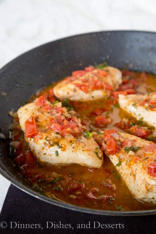 Tuscan Chicken Recipe from Dinners Dishes and Desserts.
