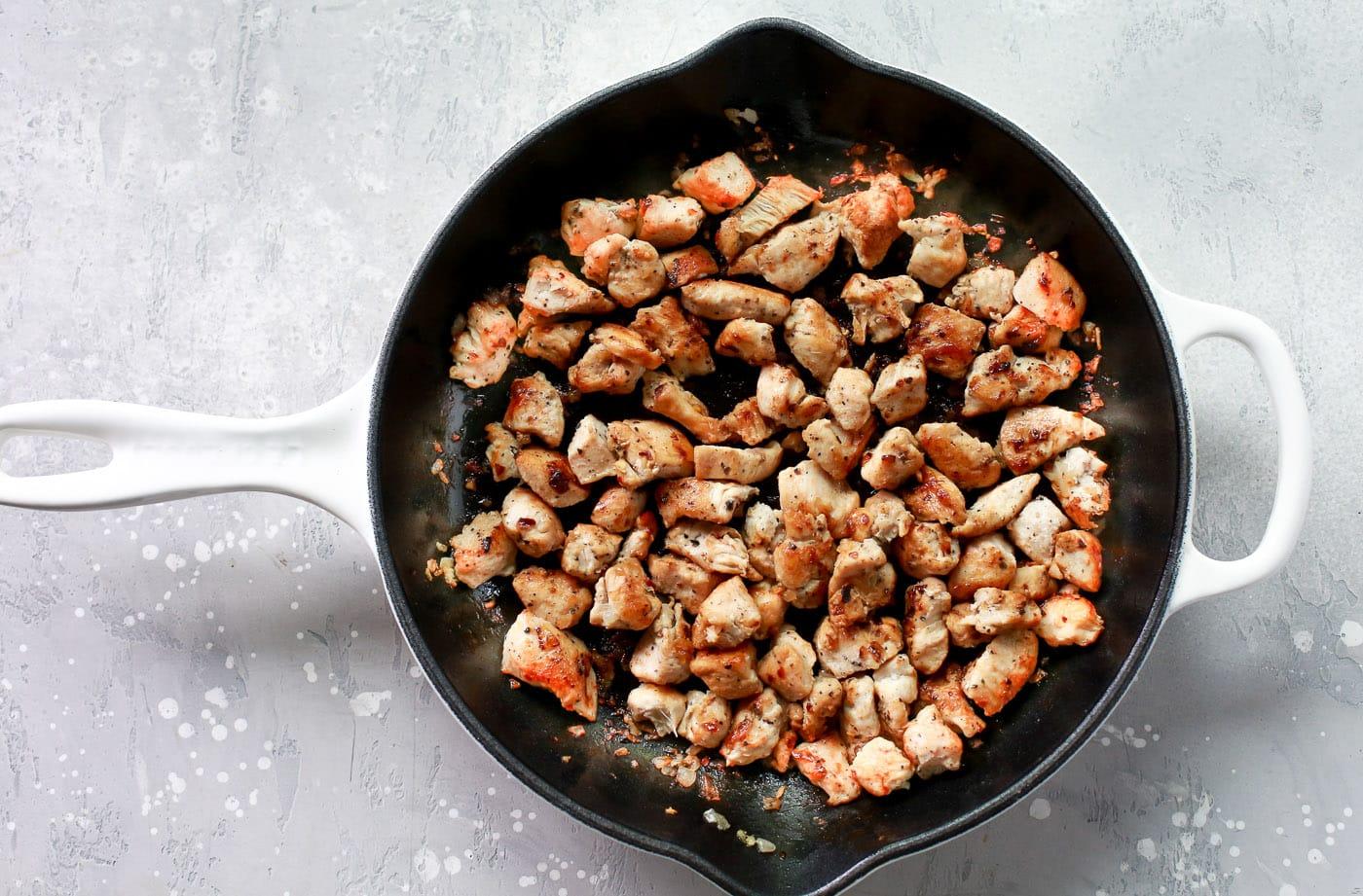 Asparagus Sweet Potato Chicken Skillet Primavera Kitchen