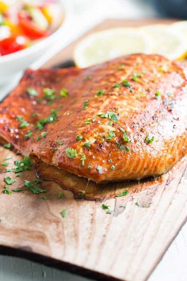 Easy Cedar Plank Salmon Primavera Kitchen Recipe