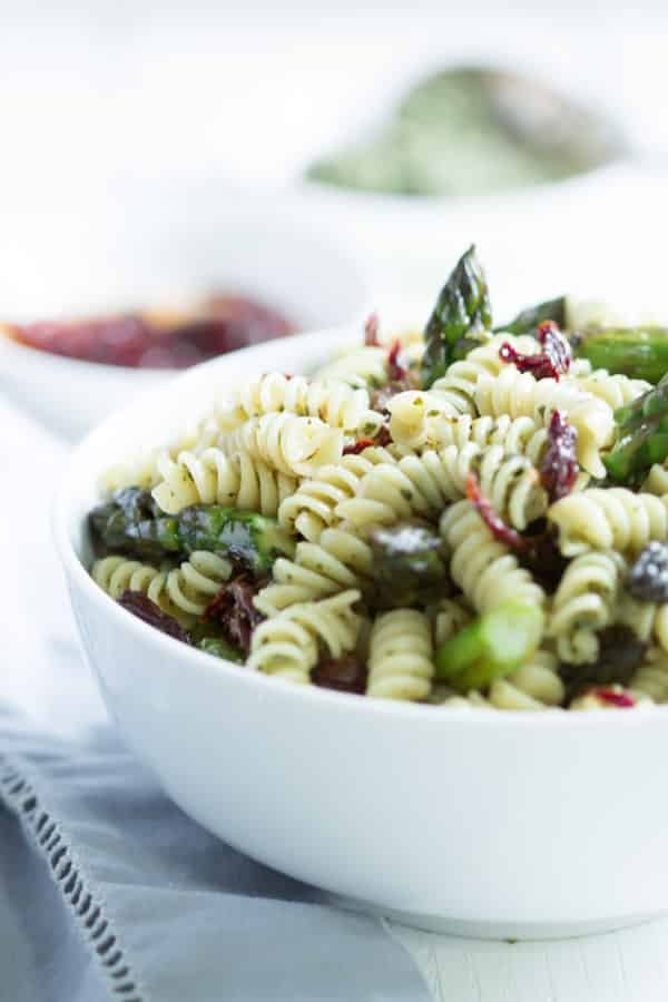 Easy Asparagus Pasta Salad Primavera Kitchen Recipe