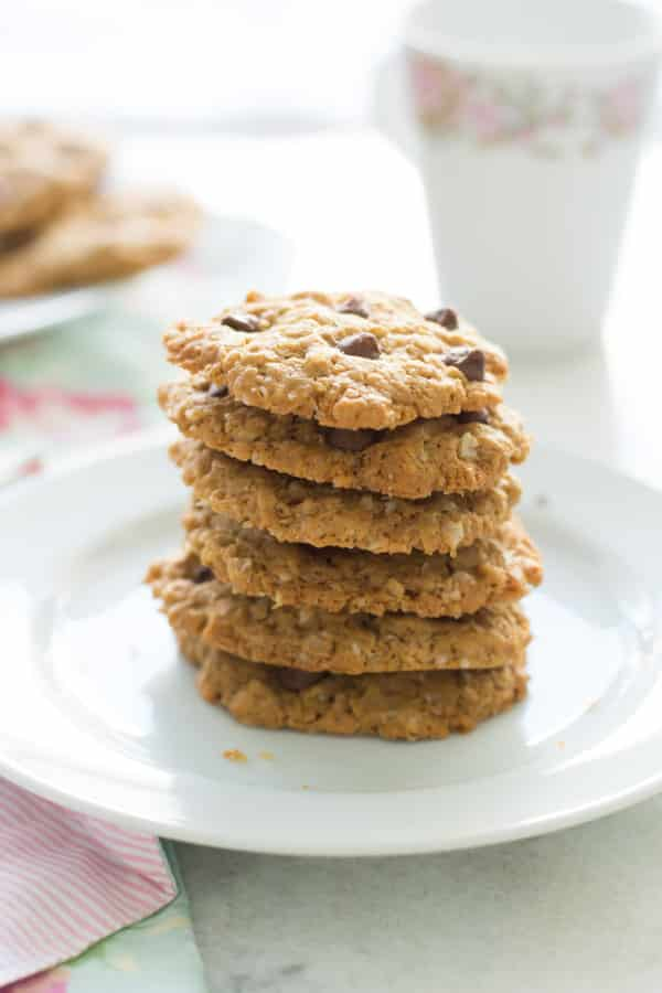 Healthy Peanut Butter Oatmeal Cookies Primavera Kitchen