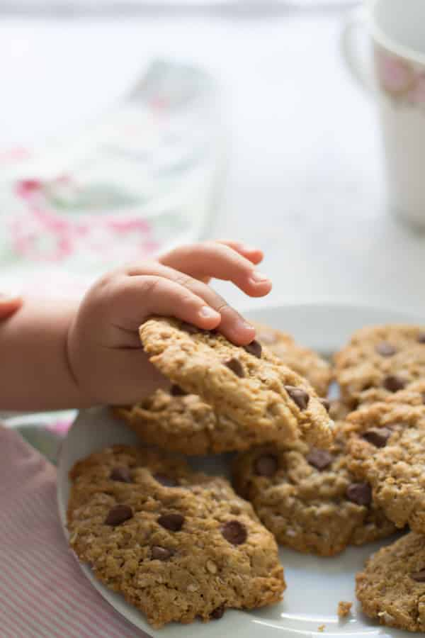 Healthy Peanut Butter Oatmeal Cookies Primavera Kitchen Recipe