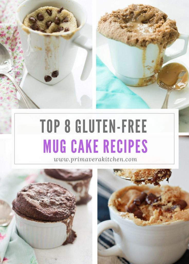 Gluten Free Mug Cake On The Go Primavera Kitchen