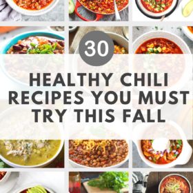 healthy chili recipes for fall