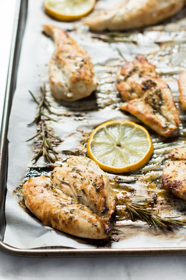 Paleo Lemon Roasted Breast Chicken Primavera Kitchen Recipe