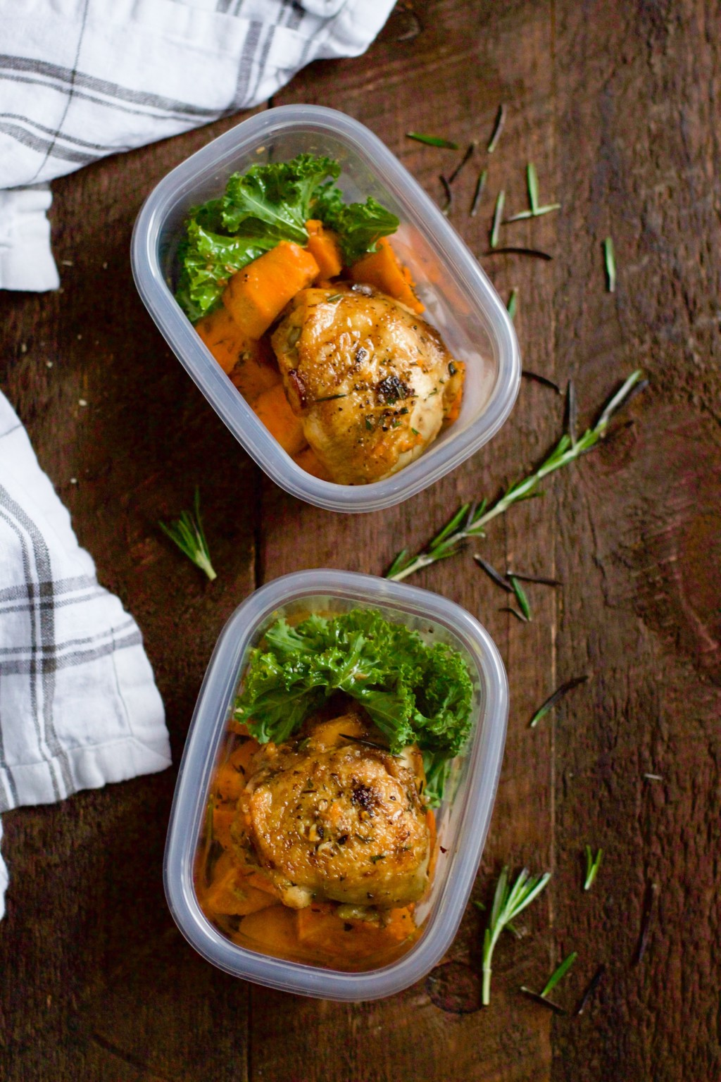 Slow Cooker Chicken and Sweet Potato (Meal Prep) - Primavera Kitchen