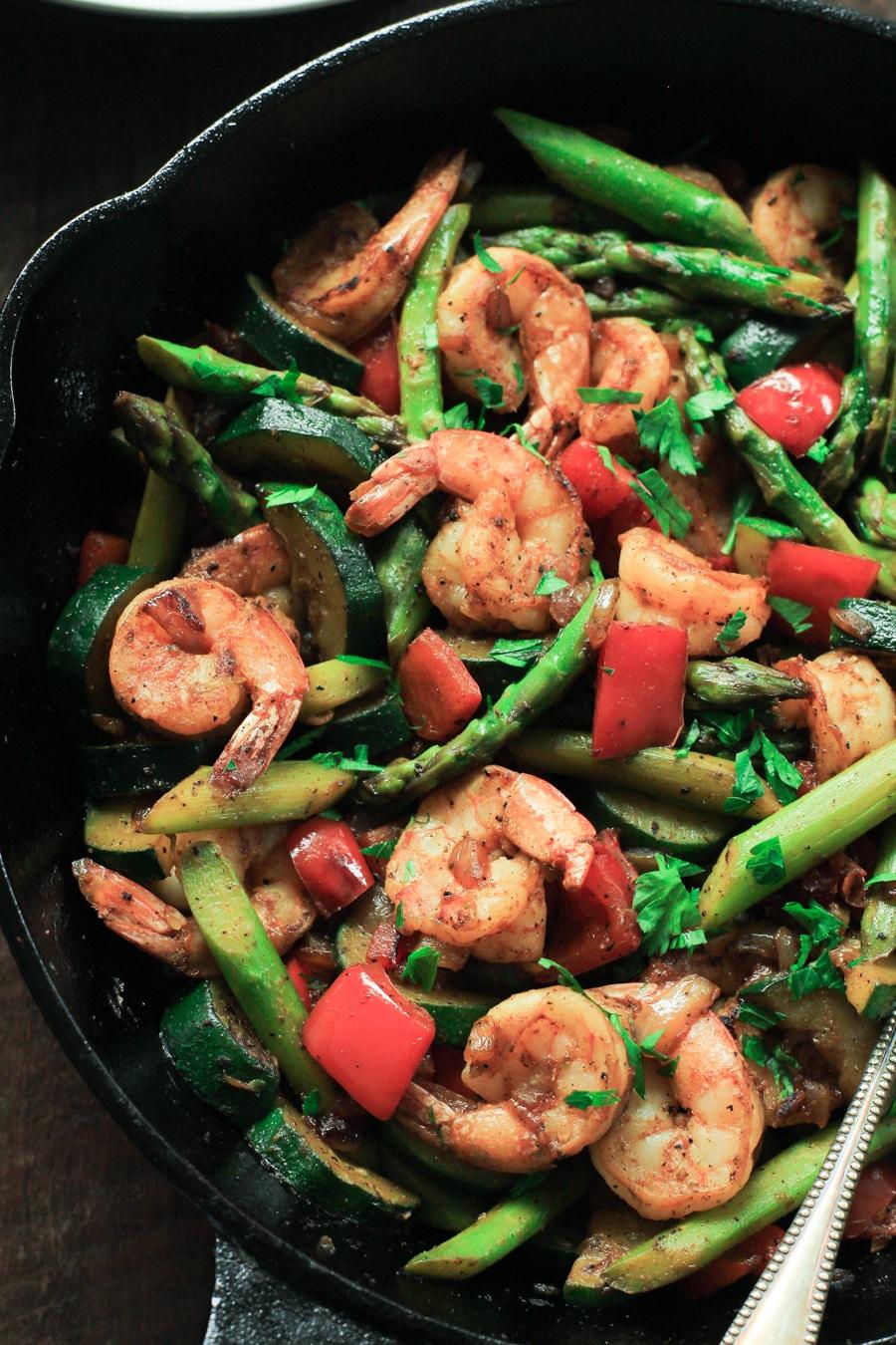 Shrimp vegetable skillet meal prep primavera kitchen shrimp vegetable skillet meal prep primavera kitchen recipe forumfinder Image collections