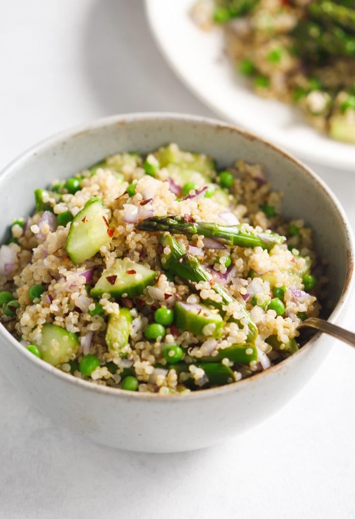 Spring Quinoa Salad Recipe - Primavera Kitchen