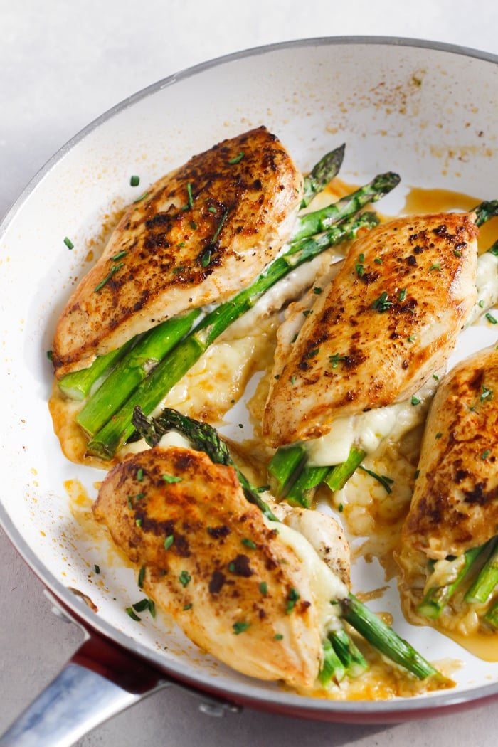 Asparagus Stuffed Chicken Breast Recipe Primavera Kitchen