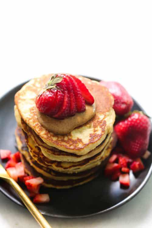 3-Ingredient Almond Flour Pancake Primavera Kitchen Recipe