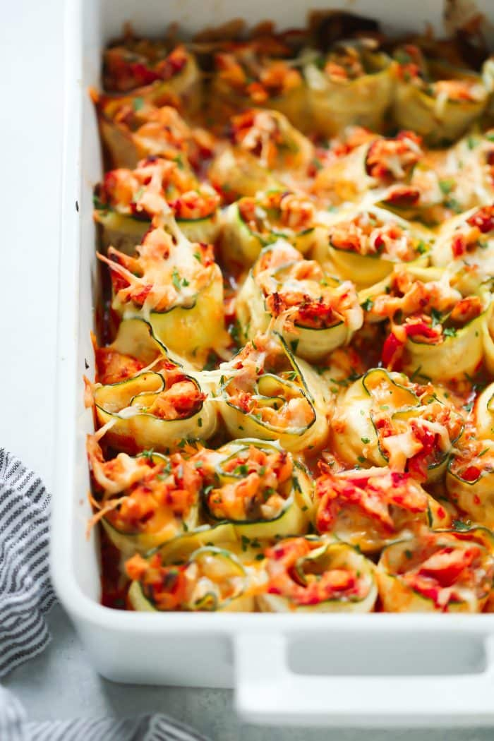 4-Ingredient Chicken Zucchini Rolls Primavera Kitchen Recipe