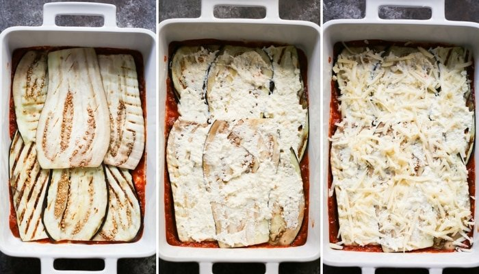 Low-Carb Eggplant Lasagna Primavera Kitchen Recipe