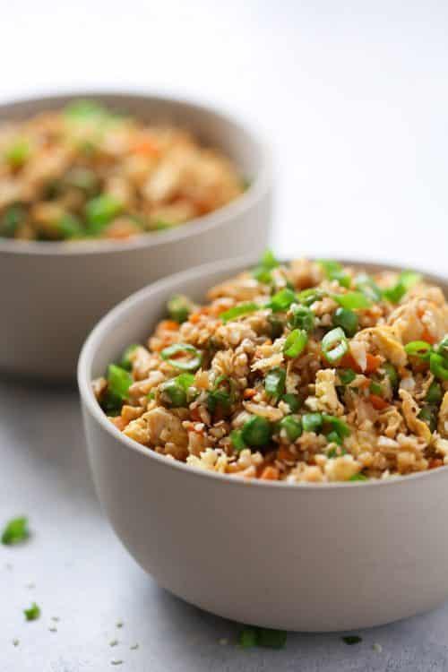 This Cauliflower Fried Rice Primavera Kitchen Recipe