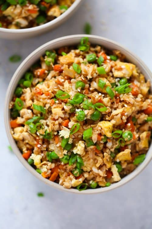 Cauliflower Fried Rice Primavera Kitchen Recipe