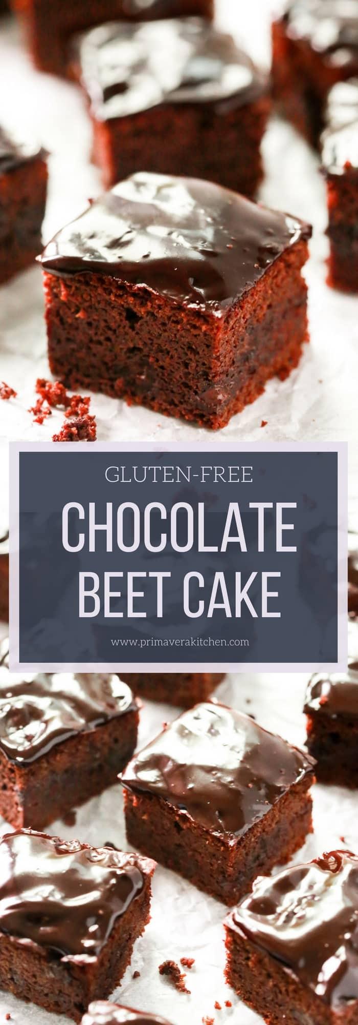 Gluten-free Chocolate Beet Cake